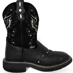 Justin Gypsy Cross And Wings Western Boot size 6.5